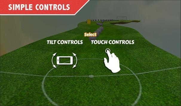 Ball Roll : 3D Goal Roll apk screenshot