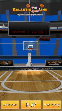 Galactic AR Basketball poster