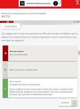 Québec Permis Moto screenshot 2