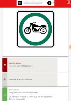 Québec Permis Moto screenshot 4
