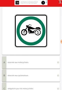 Québec Permis Moto screenshot 5