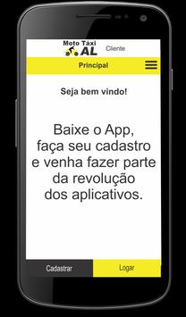 Moto Táxi AL screenshot 2