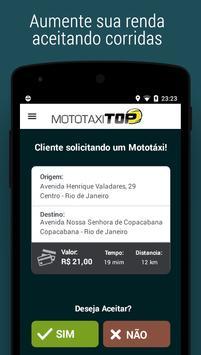 Mototáxi Top - Condutor screenshot 2