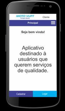 Moto Vupt - Cliente poster