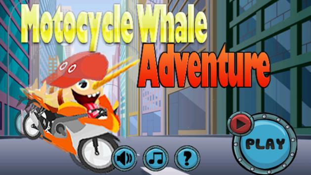 Motocycle Whale Adventure poster