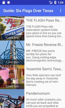 VR Guide: Six Flags Over Texas screenshot 1