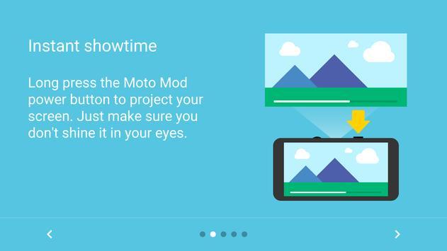 Moto Mods Projector apk screenshot