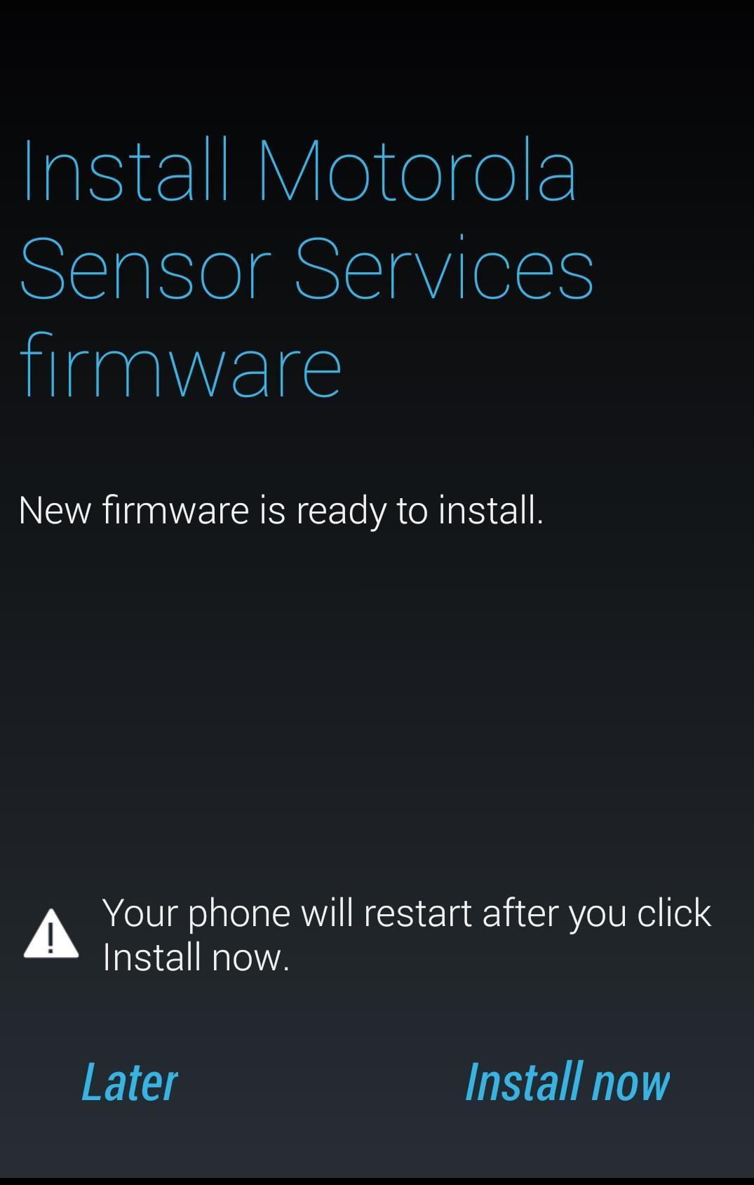 Motorola Sensor Services for Android - APK Download