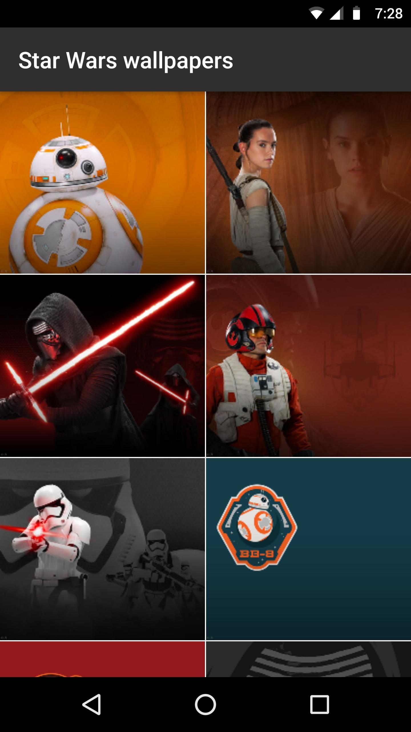 Star Wars Wallpapers For Droid For Android Apk Download