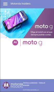 Motorola Insiders Agentes poster