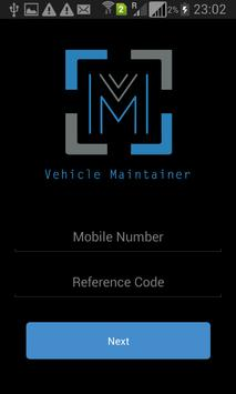 Vehicle Maintainer poster