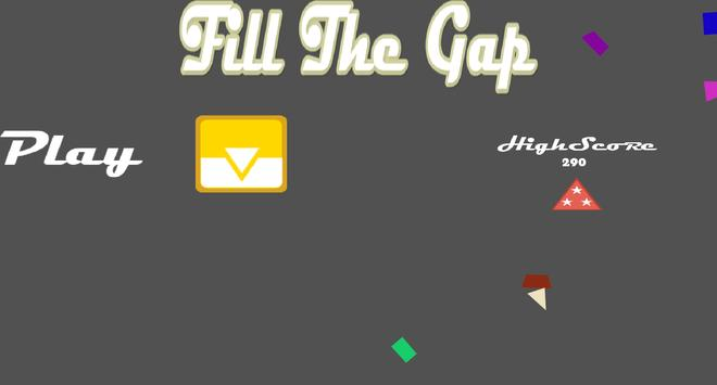 Fill The Gap poster
