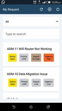 Motadata Service Desk apk screenshot