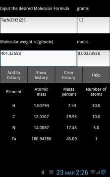 ExN Molecular Weight Calc Free poster