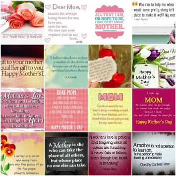 Mother Day's Quotes & Cards poster