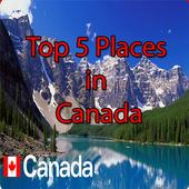 Top 5 Places in Canada icon