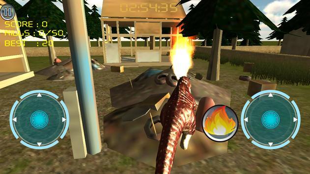 Dino Traffic Attack:Simulation screenshot 5