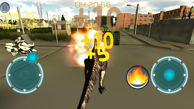 Dino Traffic Attack:Simulation screenshot 6