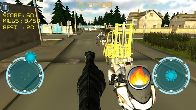 Dino Traffic Attack:Simulation screenshot 9