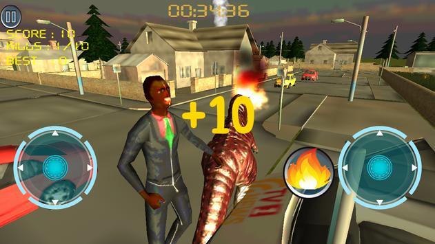 Dino Traffic Attack:Simulation screenshot 15