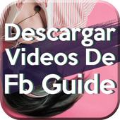 Descargar Videos De FB Gratis Tutorial Rápido icon