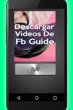 Descargar Videos De FB Gratis Tutorial Rápido screenshot 3