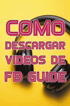 Descargar Videos De FB Gratis Tutorial Rápido screenshot 4