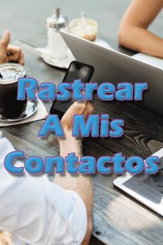 Rastrear A Mis Contactos poster