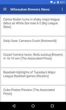 BIG Milwaukee Baseball News poster