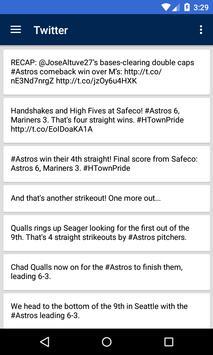 BIG Houston Baseball News screenshot 3