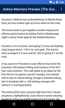BIG Houston Baseball News screenshot 2