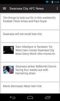 BIG Swansea Football News poster