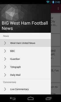 BIG West Ham Football News apk screenshot