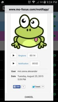 Motif Messenger - Ringtones apk screenshot