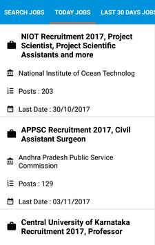 Naukri Ad Job Search, Latest Government jobs apk screenshot