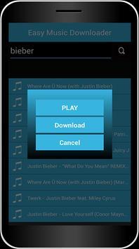 Easy Music Downloader apk screenshot