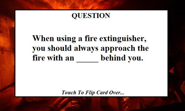 Fire Fighter Test Training poster