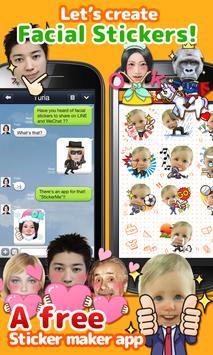 StickerMe Free Selfie Emoji screenshot 10
