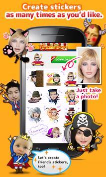 StickerMe Free Selfie Emoji screenshot 1