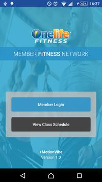 Onelife Fitness poster
