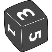 Simple Board Game Dice icon
