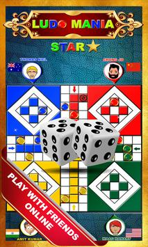 Ludo Mania Stars ⭐ The Ultimate King 2018 poster
