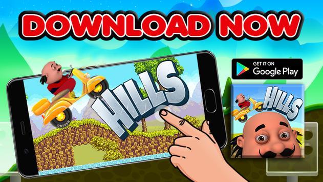 Motu Hill Racing Epic Adventure 2017 apk screenshot