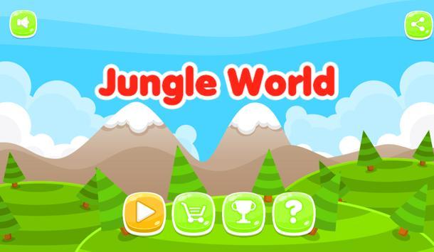 Jungle World Of Trump ! poster
