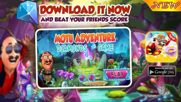 Motu Adventure Diamonds Game Dash poster