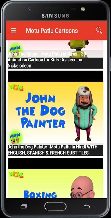 Cartoon videos Motu & Patlu for Android - APK Download