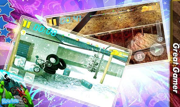 Subway Motu Patlu Motocross apk screenshot