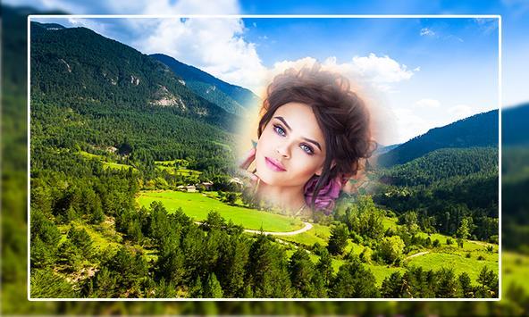 Mountain Photo Frame poster
