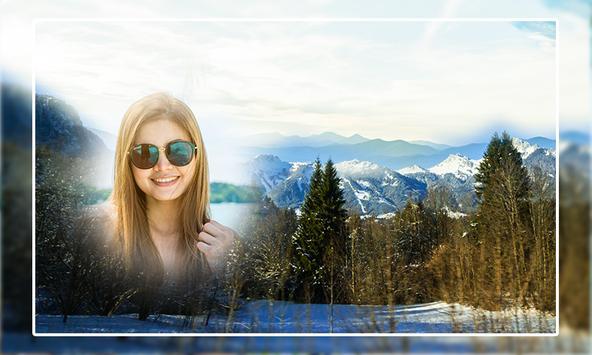Mountain Photo Frame screenshot 3