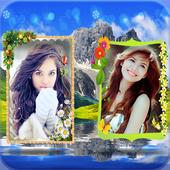 Mountain Dual Photo Frames icon